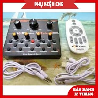 SALE FULLBOX SOUND CARD AQTA V9 - BẢO HÀNH 1 ĐỔI 1 thumbnail