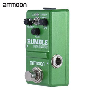 yohi2018 ammoon Nano Series Round Smooth Overdrive Guitar Effect Pedal True