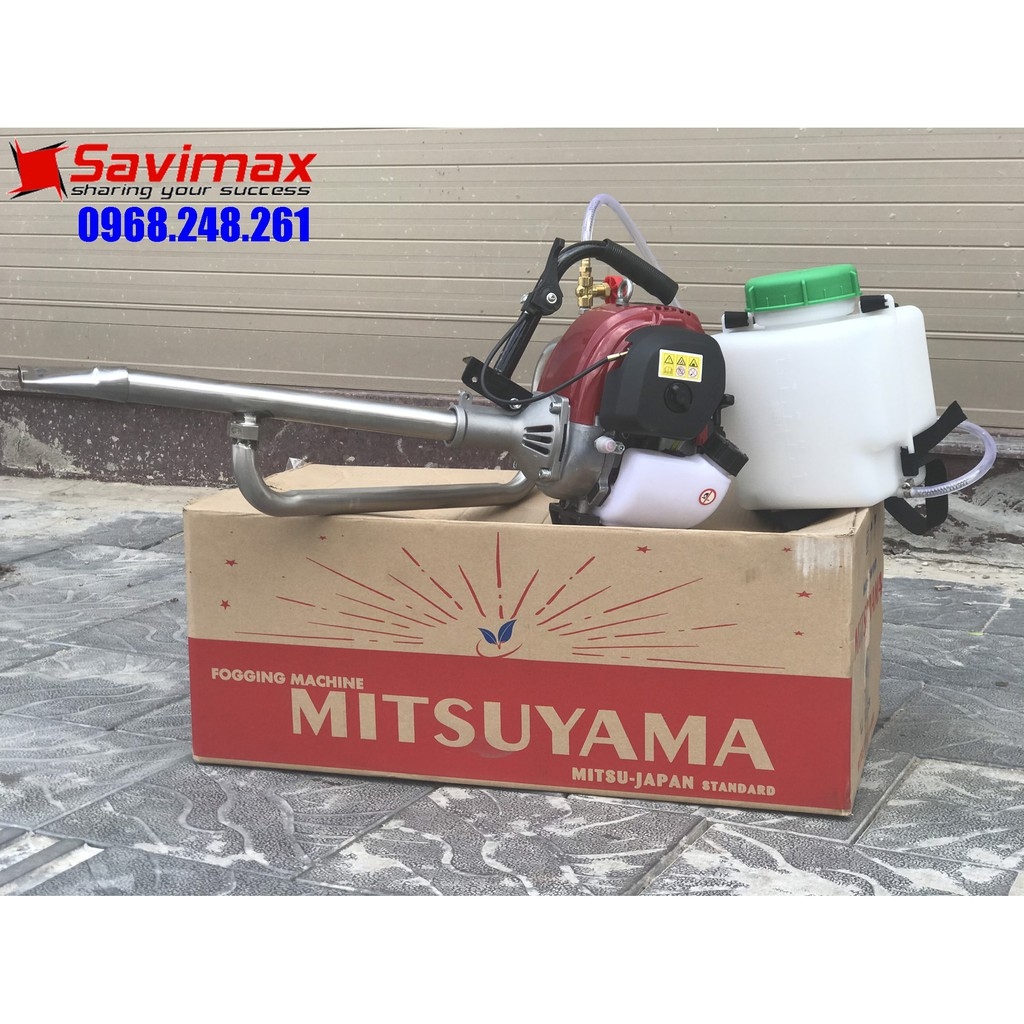 Máy phun khói diệt khuẩn, diệt côn trùng động cơ nhỏ gọn Mitsuyama TL-35N