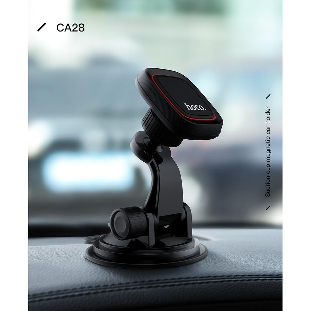 Giá đỡ điện thoại xoay 360 độ từ tính gắn xe hơi cho iPhone x Samsung Huawei nove 3i