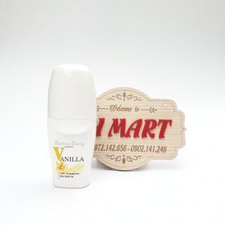 Lăn khử mùi bettina barty vanilla hương hoa vani, chống mồ hôi của đức lọ 50ml