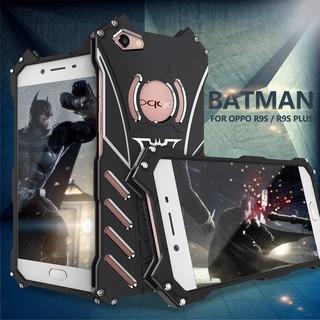 ốp lưng nhôm hình logo batman cho oppo r9/r9s/plus