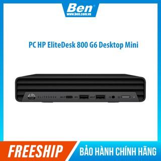 Máy tính HP EliteDesk 800 G6 Desktop Mini (235T9PA) Intel Core i5-10500 (3.1GHz, 12MB) Ram 8GB(1x8GB) DDR4 thumbnail