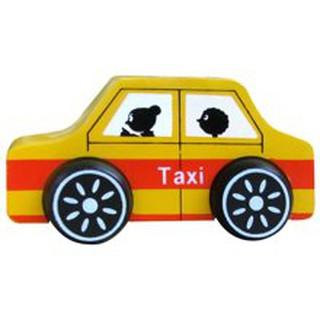 Đồ chơi bằng gỗ cho bé – Xe taxi