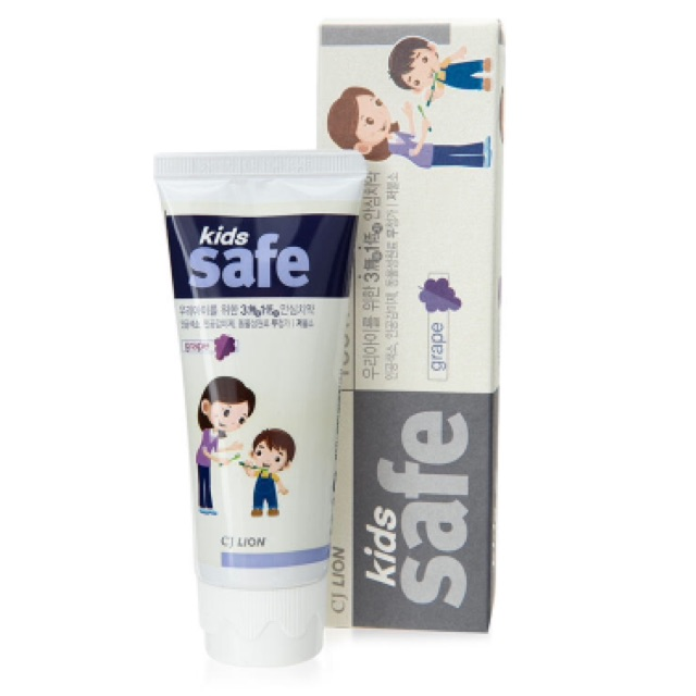 Kem đánh răng trẻ em hương nho CJ Lion Kids Safe Grape 90g - 2498614 , 468259073 , 322_468259073 , 59000 , Kem-danh-rang-tre-em-huong-nho-CJ-Lion-Kids-Safe-Grape-90g-322_468259073 , shopee.vn , Kem đánh răng trẻ em hương nho CJ Lion Kids Safe Grape 90g