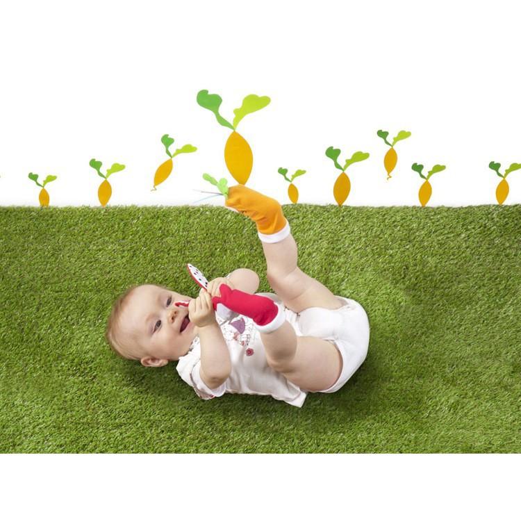 Vớ Tất đeo chân kích thích phát triển thị giác, lục lạc hình thú dễ thương cho bé