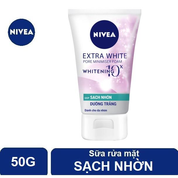 Sữa rửa mặt Nivea sạch nhờn, sáng da & se khít lỗ chân lông (50g) - 86704 - 3579174 , 1077771801 , 322_1077771801 , 40000 , Sua-rua-mat-Nivea-sach-nhon-sang-da-se-khit-lo-chan-long-50g-86704-322_1077771801 , shopee.vn , Sữa rửa mặt Nivea sạch nhờn, sáng da & se khít lỗ chân lông (50g) - 86704