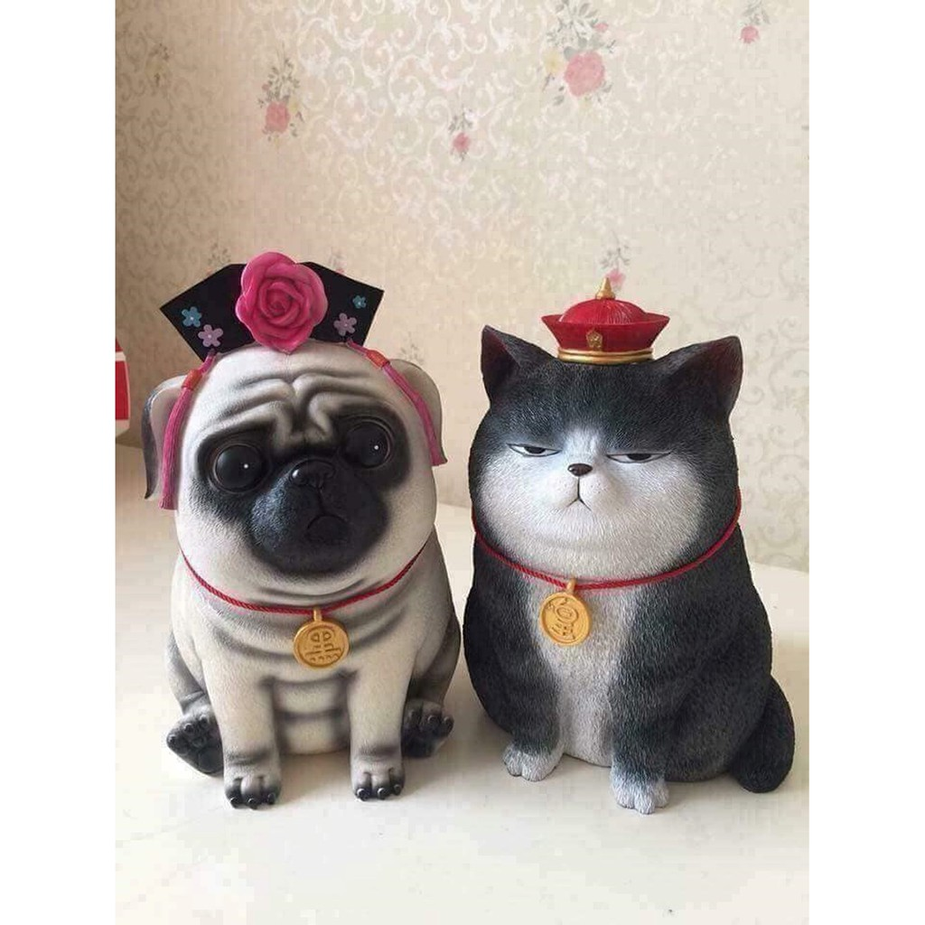 mèo cún tiết kiệm tiền