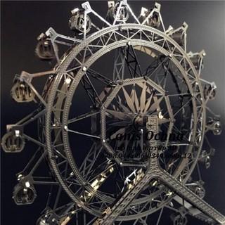 Mô Hình Láp Ráp 3D_ Đu Quay Phượng Hoàng_Ferris Wheel