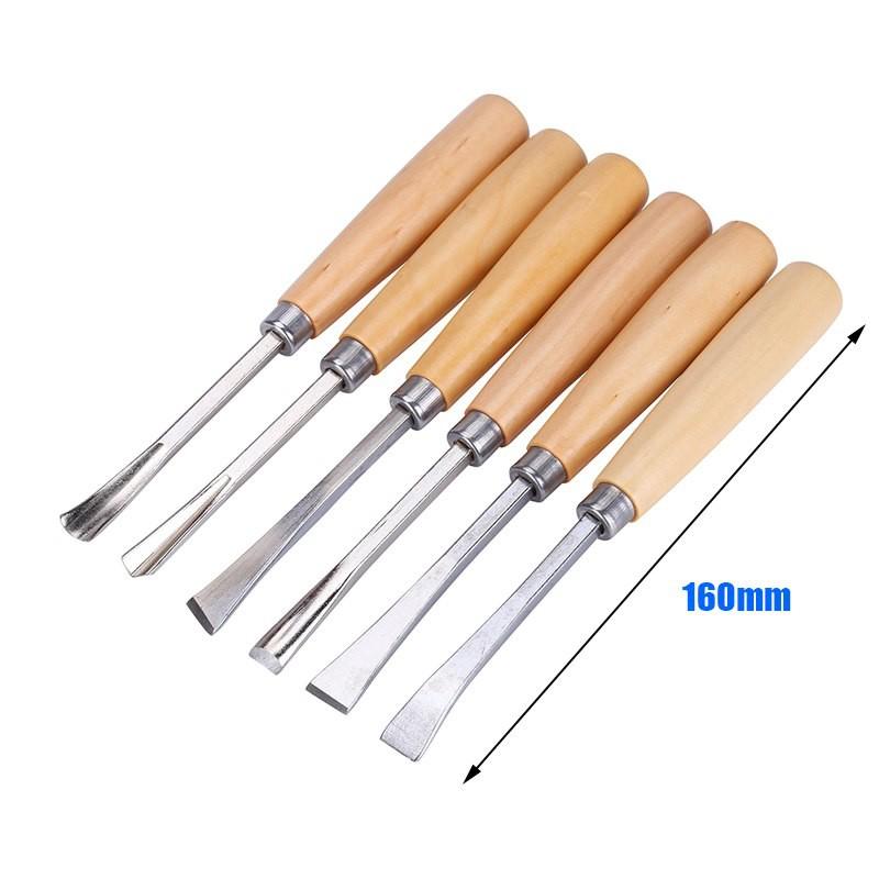 Tay đục gỗ cán tròn, dụng cụ đục gỗ cho thợ mộc