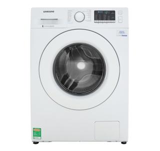 [Mã ELSS300 giảm 300k đơn 3,5 triệu] Miễn phí công lắp đặt-Máy giặt Samsung Inverter 8 kg WW80J52G0KW/SV