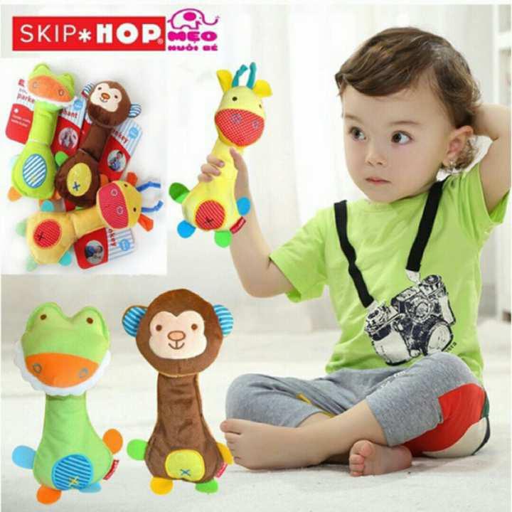 Xúc xắc cầm tay Skip Hop/ Thú cầm tay SKip Hop áp dụng ngày