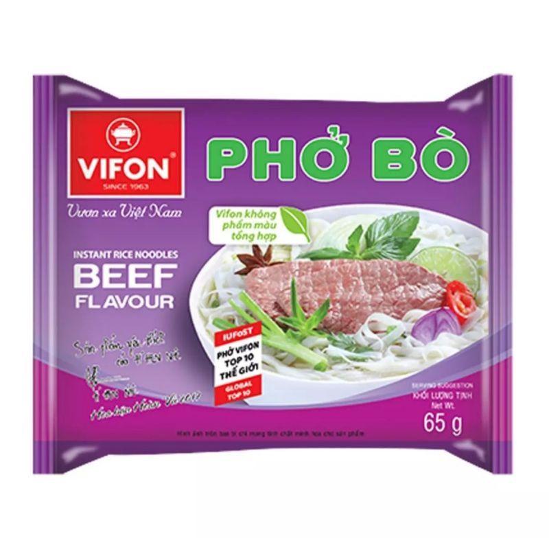 Phở bò/gà Vifon 65g