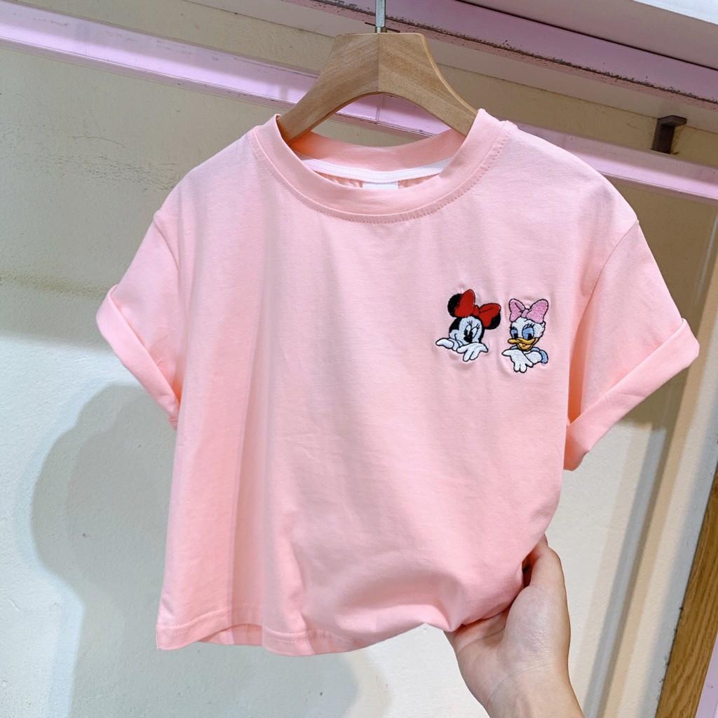 Áo thun ngắn tay bé gái - Size 5-13(15-37kg)