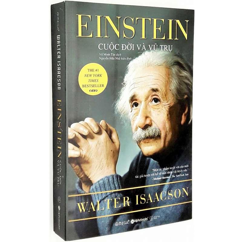 Cuốn sách EINSTEIN cuộc đời và vũ trụ