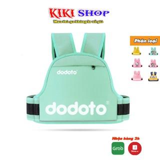 Đai đi xe máy cho bé 1-10 tuổi Dodoto, đeo vai, thắt lưng, đai ngực, Kiki shop