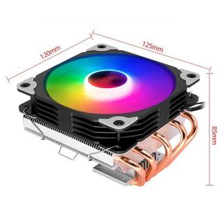 ☑ Quạt tản nhiệt CPU giá tốt T500x 5 ống đồng tản nhiệt, Led RGB đảo màu tự động. giá tốt