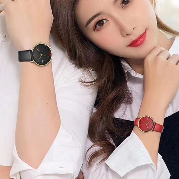 Đồng hồ Onlyou Nam 520011GC Dây Da 40mm