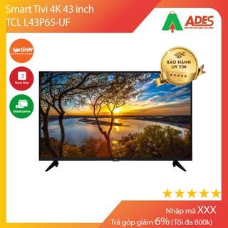 Smart Tivi TCL 4K 43 inch L43P65-UF thumbnail