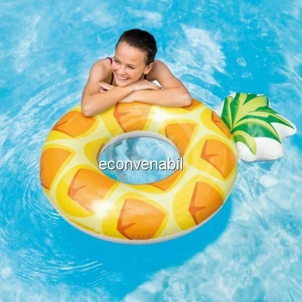 Phao bơi trái dứa khổng lồ INTEX 56266 cho ng lớn thiếu niên
