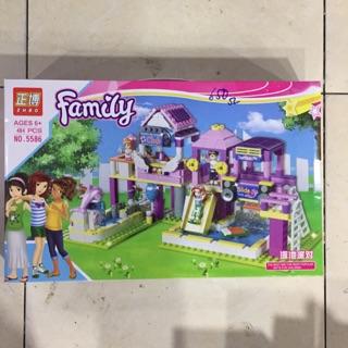 [ Luôn có sẵn] Lego lắp ráp đồ chơi cho bé gái Family 484 miếng ghép – đồ chơi xếp hình
