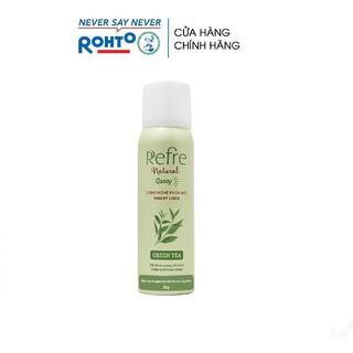 Xịt khử mùi chiết xuất thiên nhiên Refre Natural Spray Green Tea Hương Trà Xanh (50g)