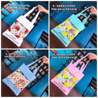 Túi đựng Doll – Giỏ đựng doll – Túi đeo vai – Túi trong suốt – Túi Tote