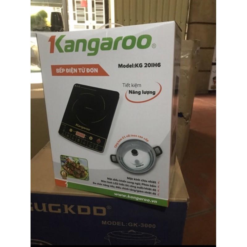 Bếp Từ kangaroo KG365i va KG20IH6 tặng kèm nồi inox cao cấp
