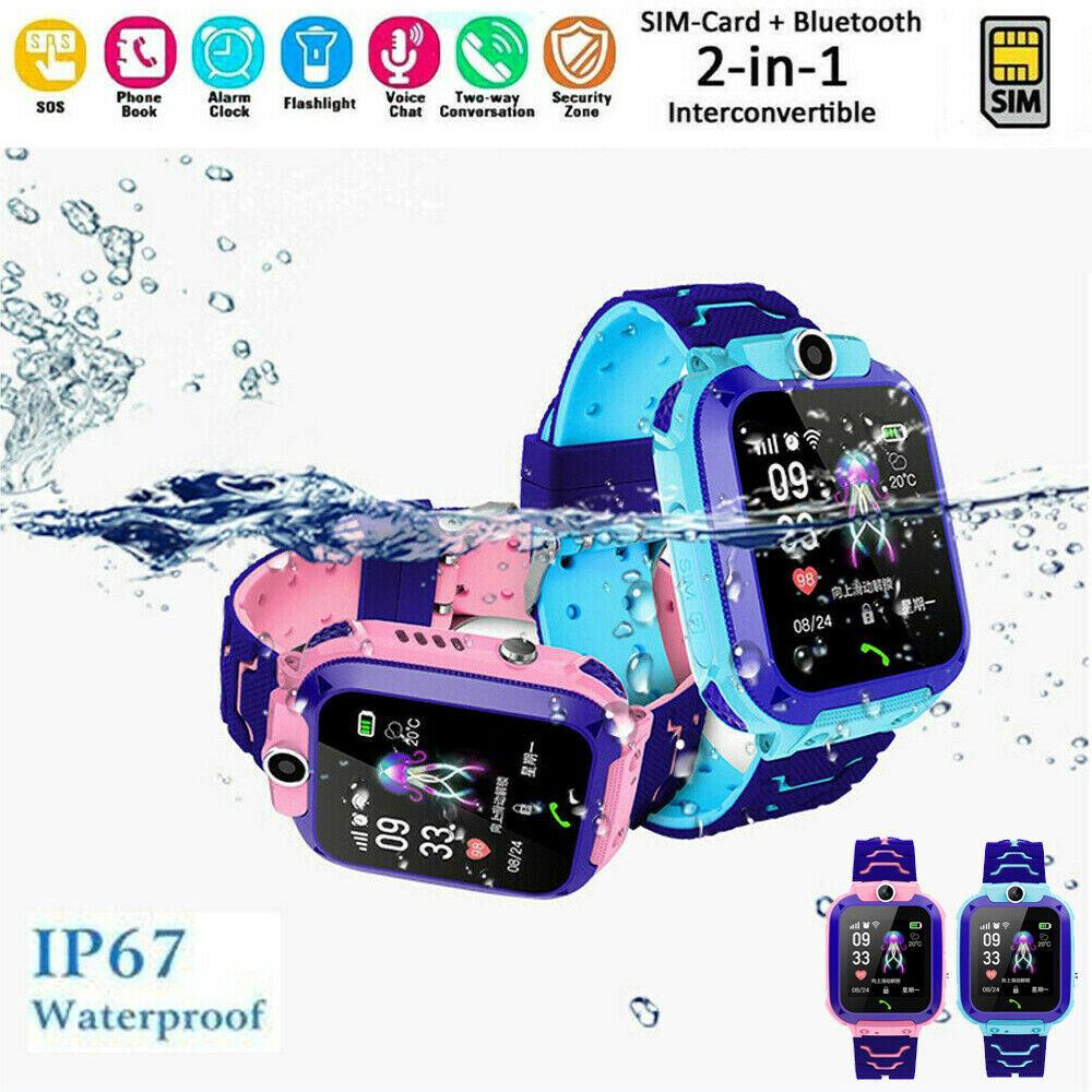 Smart Watch with LBS Tracker Touch Screen Tracker SOS for Kids Children