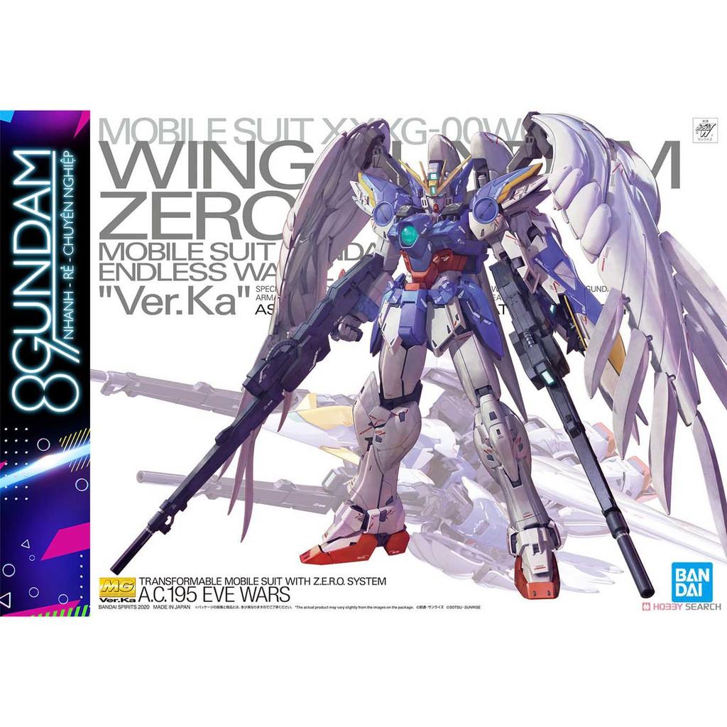 Mô Hình Lắp Ráp MG Wing Gundam Zero EW ver.Ka