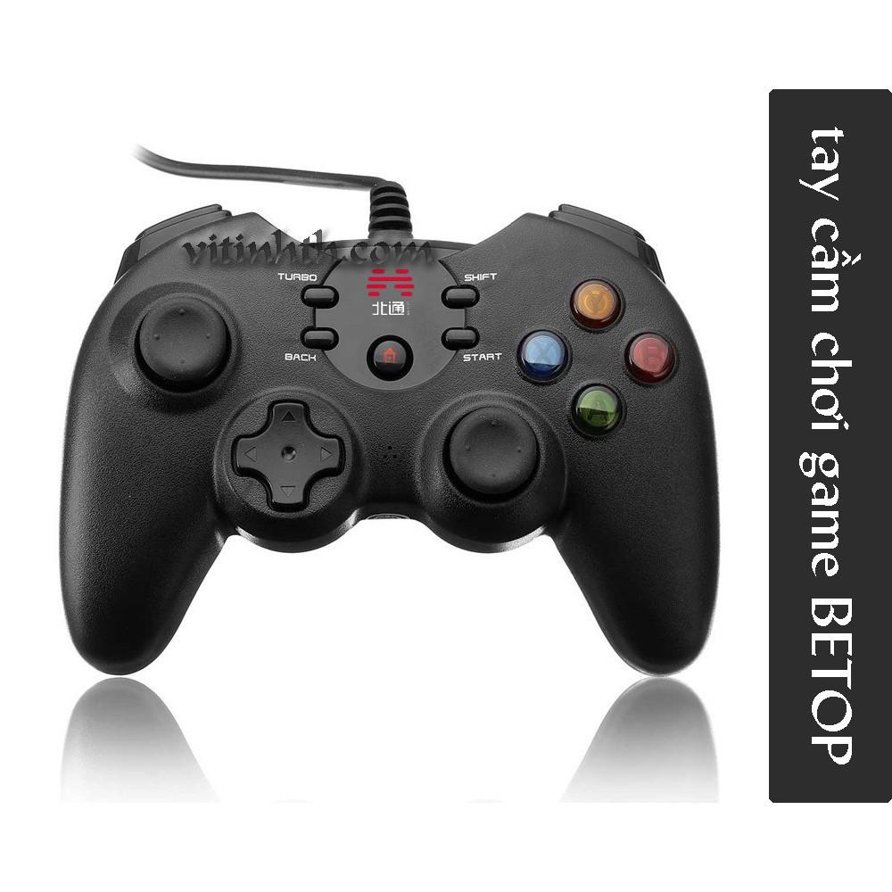 [GIÁ SỐC]Gamepad chính hãng BETOP 2170U - Tay cầm chơi game - THComputer Q11
