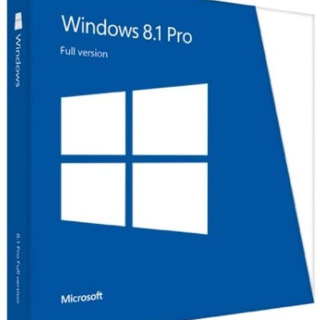 Windows 8.1 pro Retail Giá chỉ 50.000₫