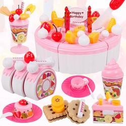 Bộ đồ chơi cắt bánh sinh nhật - 2930501 , 814006664 , 322_814006664 , 234000 , Bo-do-choi-cat-banh-sinh-nhat-322_814006664 , shopee.vn , Bộ đồ chơi cắt bánh sinh nhật