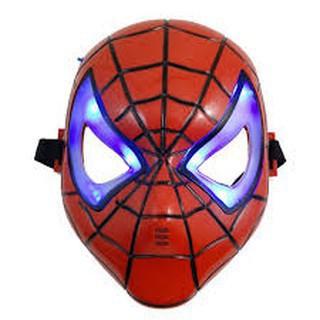 Mặt nạ người nhện có đèn hay Nrẻ (đẹp)