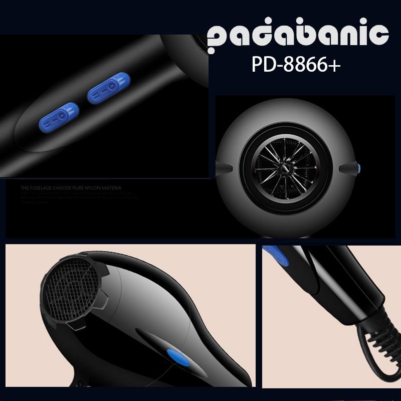 Máy sấy tóc Padabanic 8866 công suất 2200W 2 chiều Bảo Hành