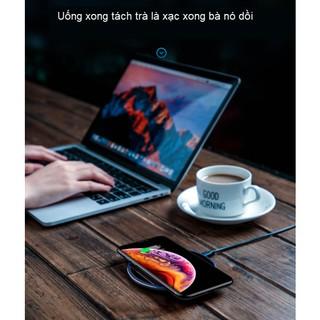 Bộ sạc không dây cho điện thoại di động Iphone 11, Iphone 11 pro max, Iphone x, 8plus xiaomi, huawei p40, mate30 sạc nha