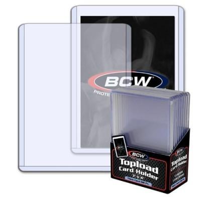Hộp bọc bài nhựa hãng BCW (gồm 25 chiếc)