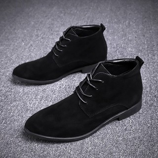 Suede Boots Kl3221 Vintage Style For Men