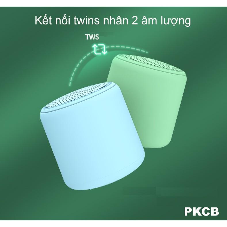 [Hàng Chính Hãng] Loa Bluetooth mini TWS 5.0 PKCB wireless không dây