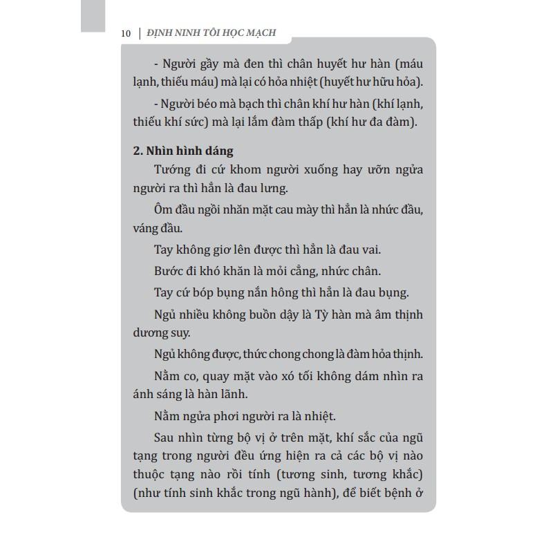 Sách - Định Ninh Tôi Học Mạch