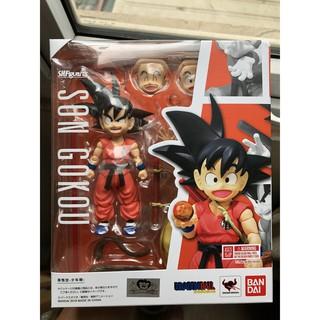 Mô hình chính hãng Bandai S.H.Figuarts Son Goku Kid Young Boyhood SHF. Hàng new nguyên seal, hộp đẹp