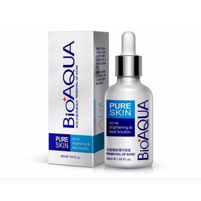 Tinh chất serum đặc trị mụn dưỡng trắng da chính hãng Bioaqua
