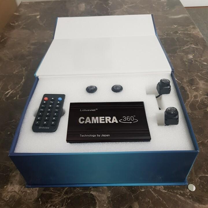 Camera hành trình 360 độ chuẩn AHD cao cấp dành cho tất cả các loại xe ô tô có sử dụng màn hình Android LV-558
