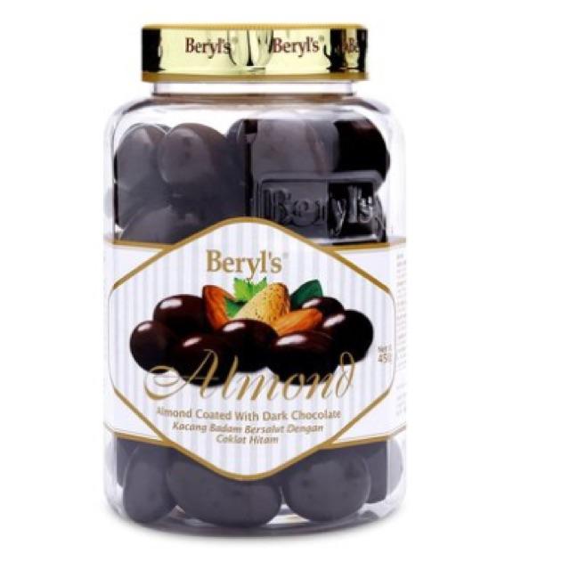 Sô cô la đen bao hạnh nhân Beryl