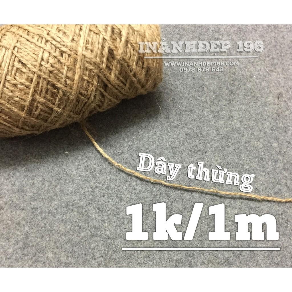 (FREESHIP)2 cuộn dây thừng trang trí dài mỗi cuộn là 400 mét