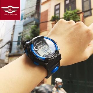 Đồng hồ thể thao trẻ em Synoke 9001, đồng hồ dây cao su cao cấp [FULL 3 MÀU]