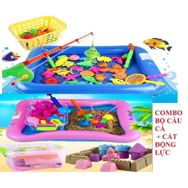 Combo 1 bộ đồ chơi câu cá phao + 1 đồ chơi cát động lực - 2571182 , 1194269884 , 322_1194269884 , 250000 , Combo-1-bo-do-choi-cau-ca-phao-1-do-choi-cat-dong-luc-322_1194269884 , shopee.vn , Combo 1 bộ đồ chơi câu cá phao + 1 đồ chơi cát động lực