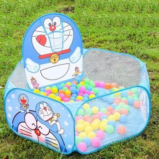 Lều Bóng Rổ Cho Bé Kitty Đoremon ( Không Kèm Bóng)