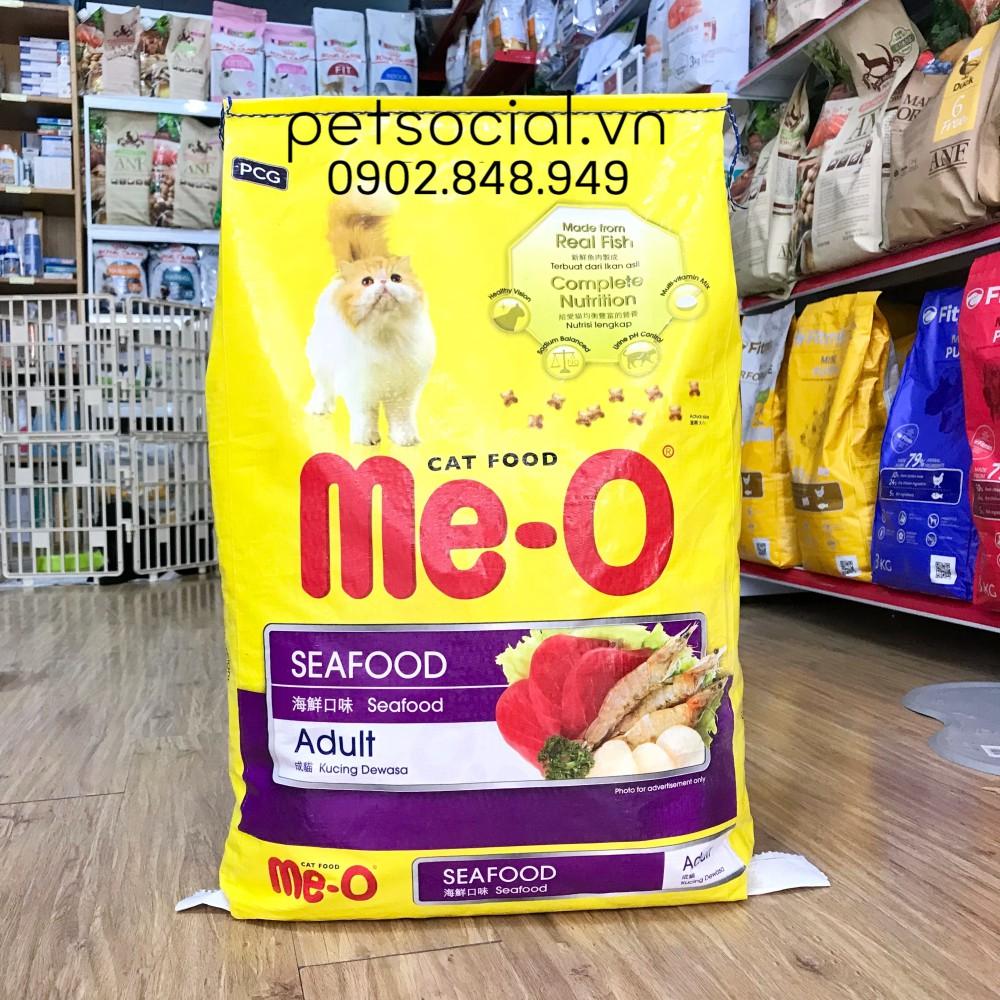 Thức ăn hạt cho mèo ME-O SEAFOOD 7kg (rẻ hơn)
