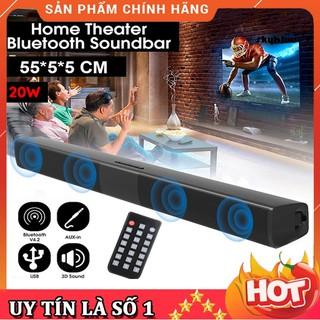 { HOT } Loa Thanh Dài Siêu Trầm Bluetooth Gaming Soundbar Để Bàn BS-28B Dùng Cho Máy Vi Tính PC, Laptop, Tivi